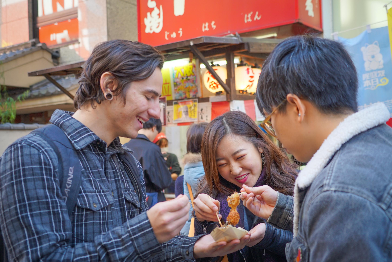 Osaka Local Foodie Tour in Dotonbori- No.1 Food Walking Tour