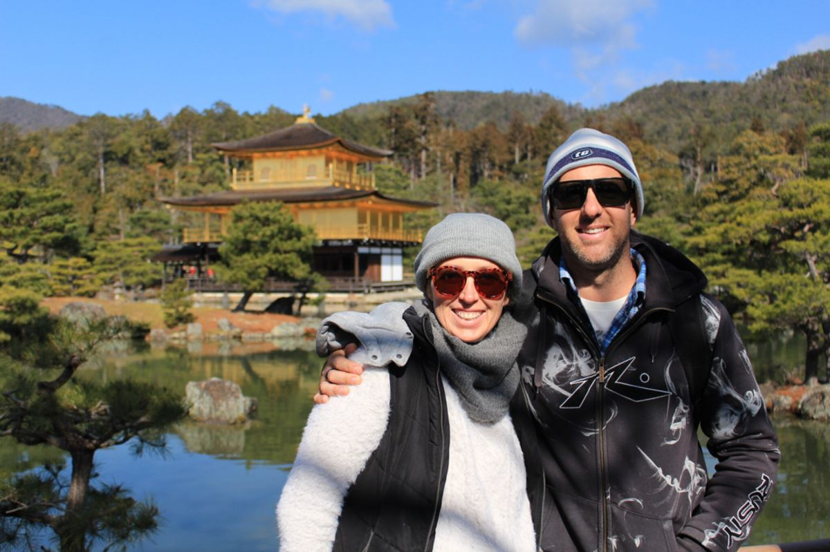 Kyoto Historical Highlights Cycling Tour with the Golden Pavilion